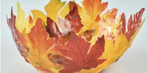 She Makes This Simple Fall Bowl With Leaves To Go With Her Other Lavish Autumn Decor…