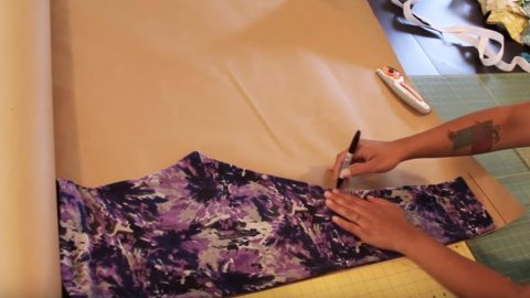 How to Make Leggings With Easy Step by Step Tutorial   DIY Joy Projects and Crafts Ideas