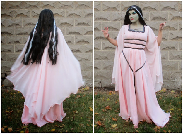 Best DIY Halloween Costume Ideas - Lily Munster Costume - Do It Yourself Costumes for Women, Men, Teens, Adults and Couples. Fun, Easy, Clever, Cheap and Creative Costumes That Will Win The Contest