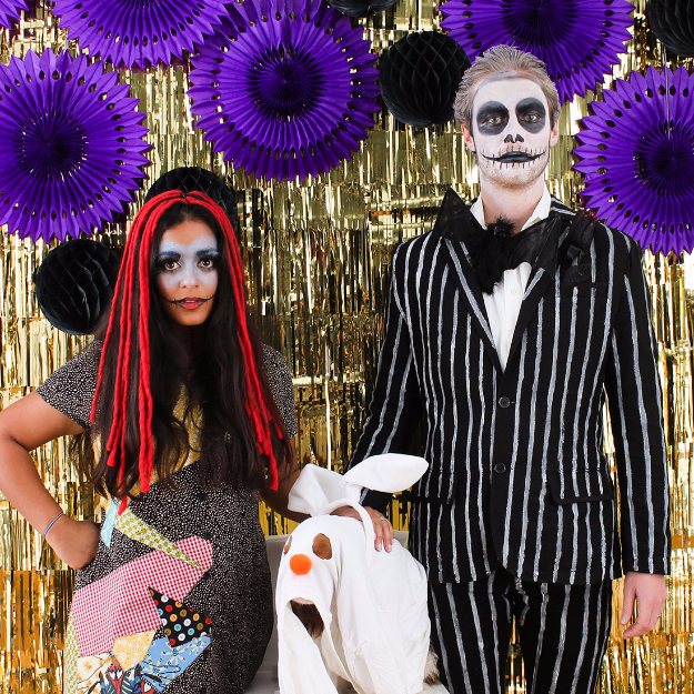 Best DIY Halloween Costume Ideas - Nightmare Before Christmas - Do It Yourself Costumes for Women, Men, Teens, Adults and Couples. Fun, Easy, Clever, Cheap and Creative Costumes That Will Win The Contest