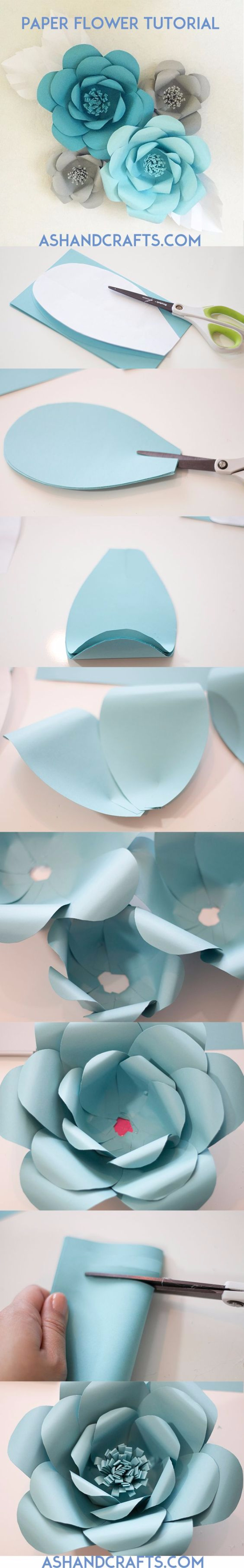 39 Easy DIY Party Decorations - Paper Flower Backdrop - Quick And Cheap Party Decors, Easy Ideas For DIY Party Decor, Birthday Decorations, Budget Do It Yourself Party Decorations #diyparties #party #partydecor #parties