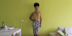 She Makes A Sensational Pencil Skirt In 10 Minutes (Watch!)