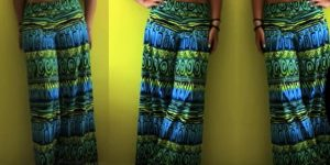 She Makes The Coolest And Easiest Palazzo Pants In No Time At All (Comfy!)