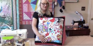 She Stacks Fabric Squares and Sews to Make The Most Needed DIY Idea Ever