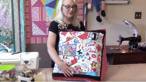 Sewing Tutorial : Back Pillow for Reading or TV Watching | DIY Joy Projects and Crafts Ideas