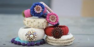 She Buys Sweaters From The Thrift Store And Makes These Fabulous Bracelets!