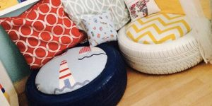 If You Need Some Extra Seating Or A Cute Little Ottoman Watch What She Does!