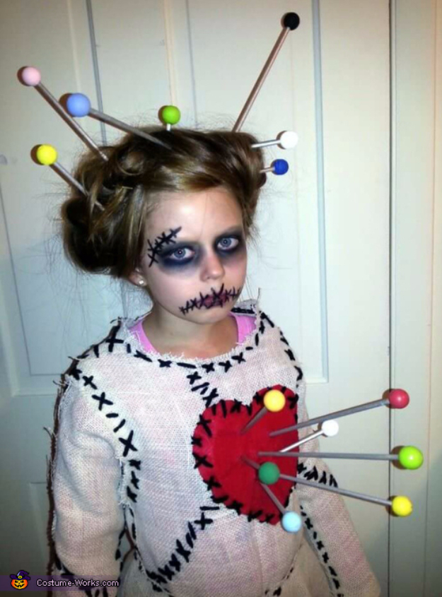Best DIY Halloween Costume Ideas - Voodoo Doll Costume - Do It Yourself Costumes for Women, Men, Teens, Adults and Couples. Fun, Easy, Clever, Cheap and Creative Costumes That Will Win The Contest