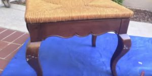 Watch The Attractive Transformation They Make With This Beat Up Old Stool!