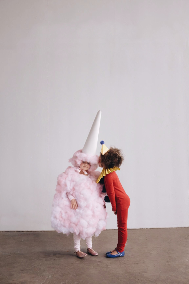 Best DIY Halloween Costume Ideas - DIY Cotton Candy Costume- Do It Yourself Costumes for Women, Men, Teens, Adults and Couples. Fun, Easy, Clever, Cheap and Creative Costumes That Will Win The Contest