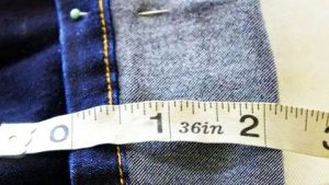 Jeans Too Long? You Need This Hem Hack In Your Life