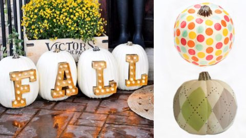 34 Pumpkin Decorations To Make For Fall | DIY Joy Projects and Crafts Ideas