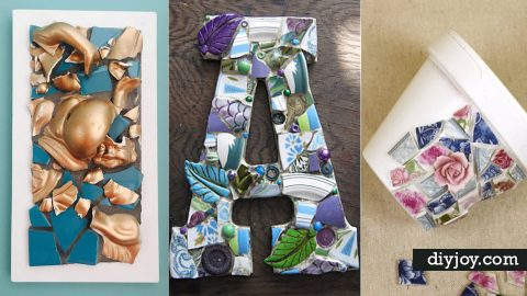 26 Creative DIY Projects Made With Broken Tile   DIY Joy Projects and Crafts Ideas