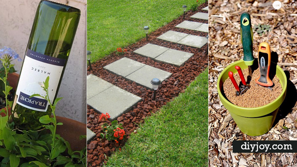 diy landscaping hacks easy ways to make your yard and home look