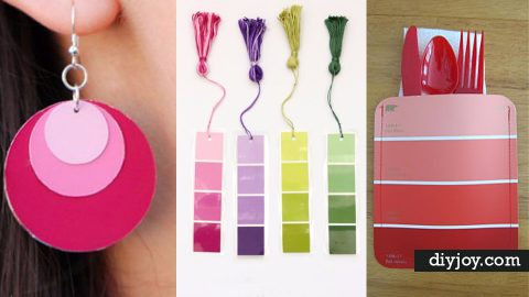 31 Super Creative DIY Paint Chip Projects | DIY Joy Projects and Crafts Ideas