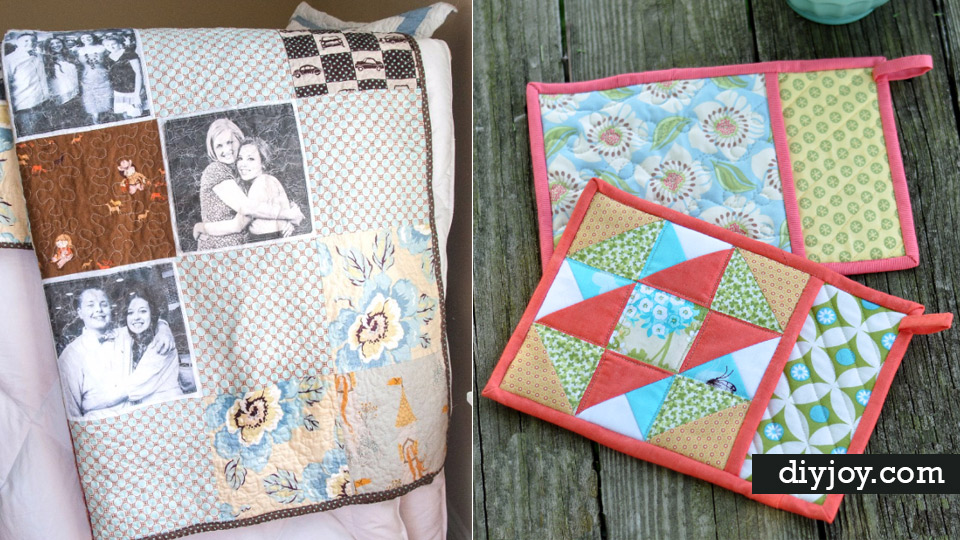 37 quilted gift ideas you can make for just about anyone for Gift ideas you can make