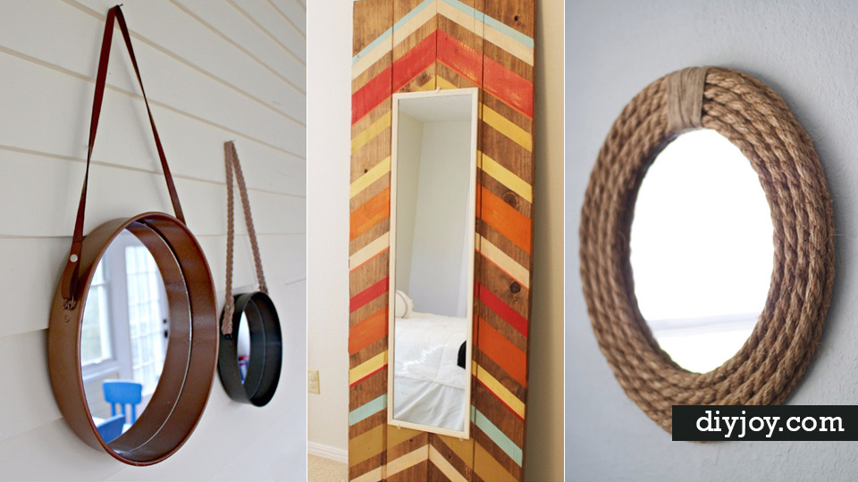 41 diy mirrors you need in your home right now for Need a mirror