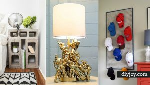 41 Super Creative DIY Room Decor Ideas for Boys