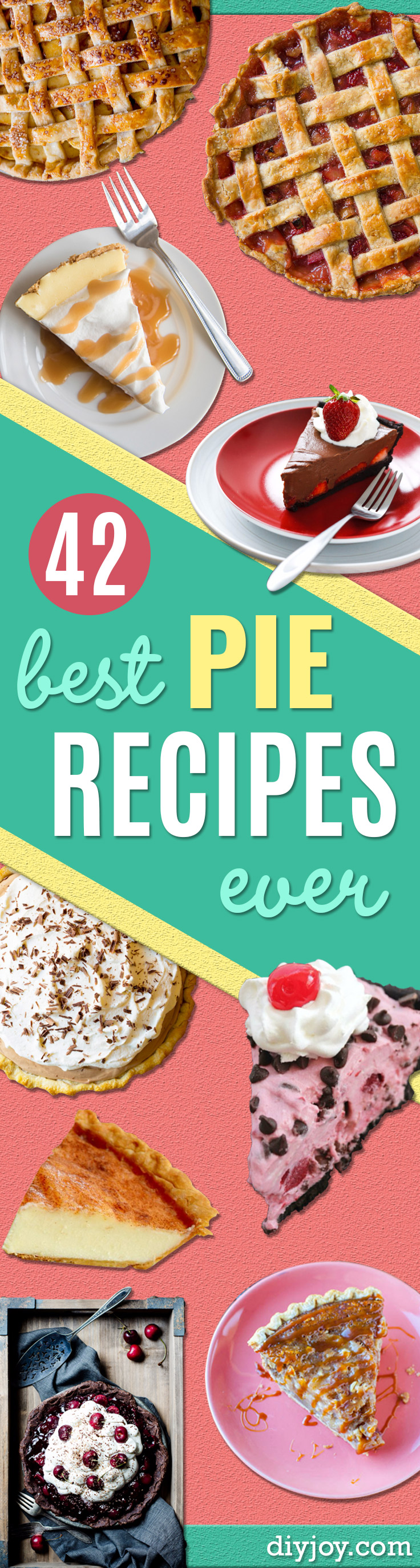 pie recipes easy - best pie recipe ideas From Scratch for Pecan, Apple, Banana, Pumpkin, Fruit, Peach and Chocolate Pies. Yummy Graham Cracker Crusts and Homemade Meringue - Thanksgiving and Christmas Pies and Mason Jar Pie Recipes