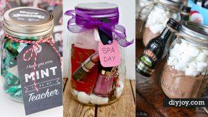 Gifts in A Jar | 50 Easy Mason Jar Gift Ideas