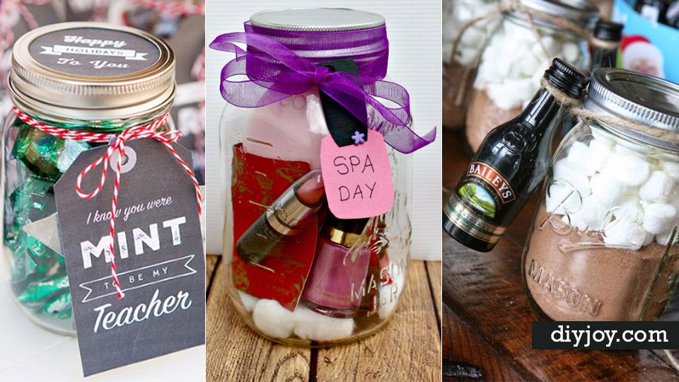 Gifts In A Jar 50 Easy Mason Jar Gift Ideas