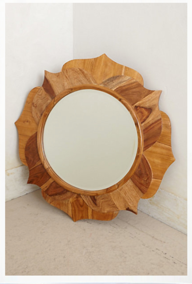 DIY Mirrors - Anthropologie Knock Off Mirror - Best Do It Yourself Mirror Projects and Cool Crafts Using Mirrors - Home Decor, Bedroom Decor and Bath Ideas - Step By Step Tutorials With Instructions