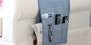 She Got Tired Of Looking for Her Remote And Glasses–She Made This Wonderful Caddy!