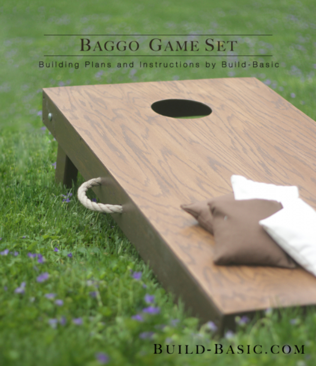 DIY Gifts for Dad Who Loves Outdoors and Games - Baggo Game Set - Best Craft Projects and Gift Ideas You Can Make for Your Father - Last Minute Presents for Birthday and Christmas - Creative Photo Projects, Gift Card Holders, Gift Baskets and Thoughtful Things to Give Fathers and Dads