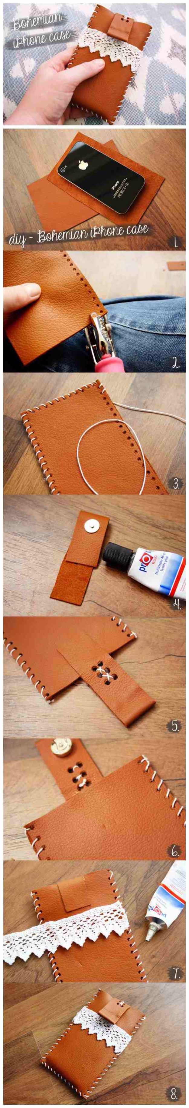 Best DIY Gifts for Girls - Bohemian Style Iphone Case - Cute Crafts and DIY Projects that Make Cool DYI Gift Ideas for Young and Older Girls, Teens and Teenagers - Awesome Room and Home Decor for Bedroom, Fashion, Jewelry and Hair Accessories - Cheap Craft Projects To Make For a Girl -DIY Christmas Presents for Tweens #diygifts #girlsgifts