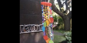She Makes These Cute And Whimsical Wind Chimes For Her Garden (Watch!)