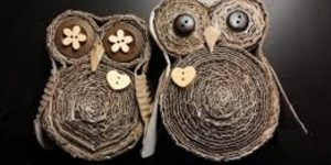 She Makes The Cutest Owls Out Of Cardboard Of All Things (Fascinating!)
