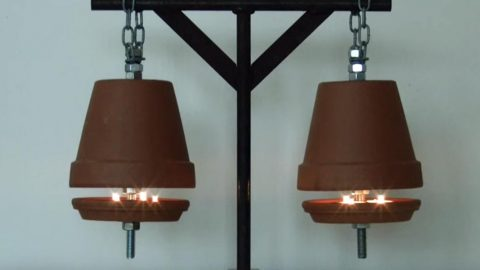 Heat the Home For 4 Cents An Hour With This DIY Idea | DIY Joy Projects and Crafts Ideas