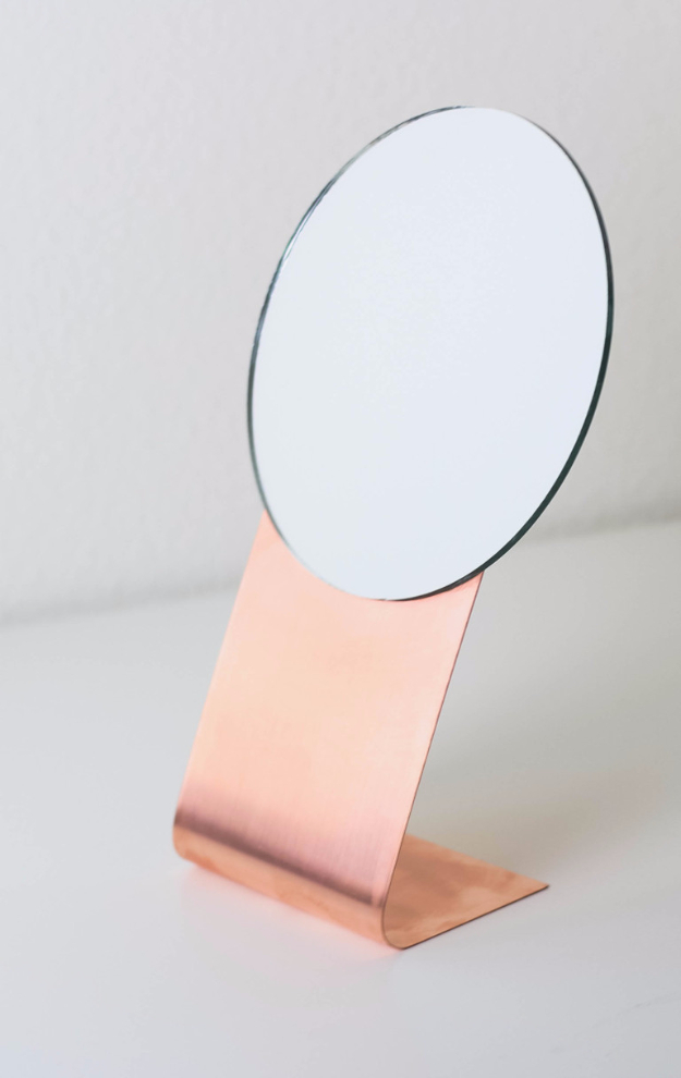 DIY Mirrors - DIY Copper Mirror - Best Do It Yourself Mirror Projects and Cool Crafts Using Mirrors - Home Decor, Bedroom Decor and Bath Ideas - Step By Step Tutorials With Instructions http://diyjoy.com/diy-mirrors