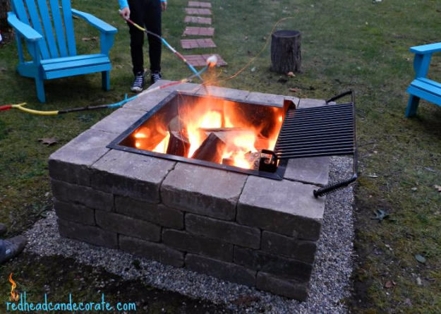 DIY Fireplace Ideas - DIY Firepit Kit - Do It Yourself Firepit Projects and Fireplaces for Your Yard, Patio, Porch and Home. Outdoor Fire Pit Tutorials for Backyard with Easy Step by Step Tutorials - Cool DIY Projects for Men #diyideas #outdoors #diy