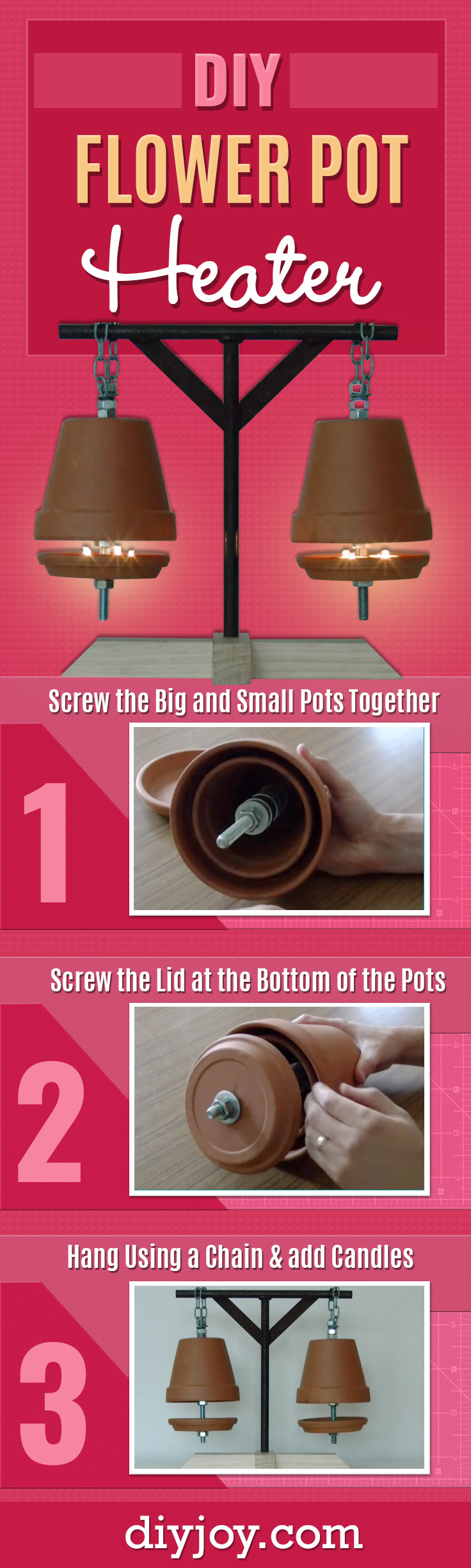 DIY Joy & Heat the Home For 4 Cents An Hour With This DIY Idea