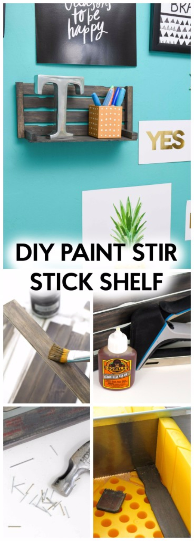 31 Crazy Cool Diy Paint Stick Projects
