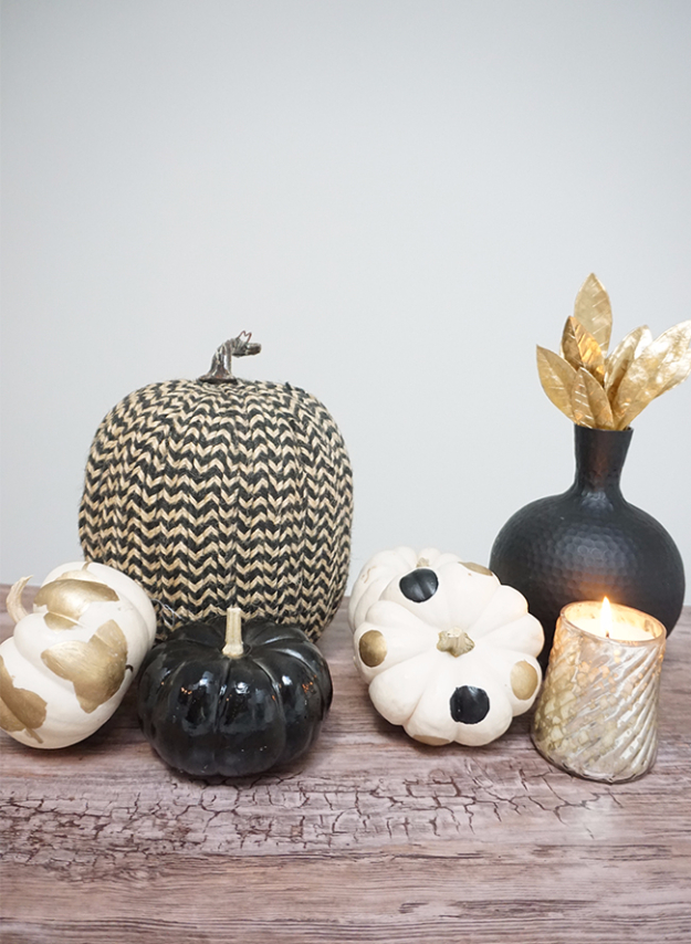Best Thanksgiving Centerpieces and Table Decor - DIY Thanksgiving Centerpiece - Creative Crafts for Your Thanksgiving Dinner Table. Mason Jars, Flowers, Leaves, Candles, Pumpkin Ideas #thanksgiving #diy