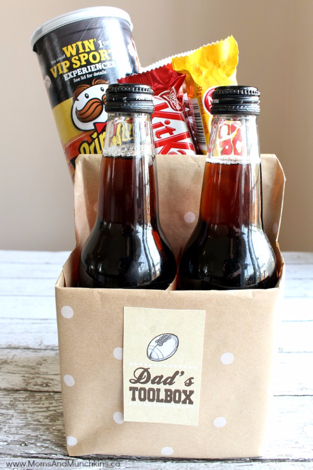 DIY Gifts for Dad - Dad's Toolbox - Best Craft Projects and Gift Ideas You Can Make for Your Father - Last Minute Presents for Birthday and Christmas - Creative Photo Projects, Gift Card Holders, Gift Baskets and Thoughtful Things to Give Fathers and Dads #diygifts #dad #dadgifts #fathersday