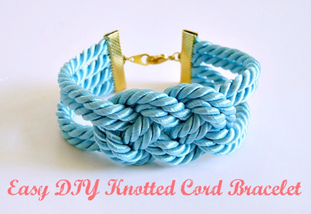 Best DIY Gifts for Girls - Easy DIY Knotted Cord Bracelet - Cute Crafts and DIY Projects that Make Cool DYI Gift Ideas for Young and Older Girls, Teens and Teenagers - Awesome Room and Home Decor for Bedroom, Fashion, Jewelry and Hair Accessories - Cheap Craft Projects To Make For a Girl -DIY Christmas Presents for Tweens #diygifts #girlsgifts