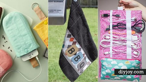 36 Creative DIY Gifts to Sew for Friends | DIY Joy Projects and Crafts Ideas