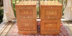 You Won't Believe What He Transforms These File Cabinets Into (Brilliant!)