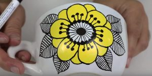 He Paints Vintage Marimekko Dishes On Dollar Store Plates And They Are Absolutely Stunning!