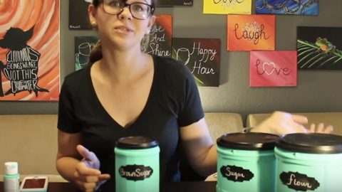 You Won't Believe What She Recycles To Make These Fabulous Containers Out Of!   DIY Joy Projects and Crafts Ideas