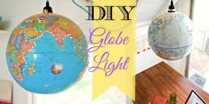 Watch How She Makes This Incredible Globe Lampshade Lantern!