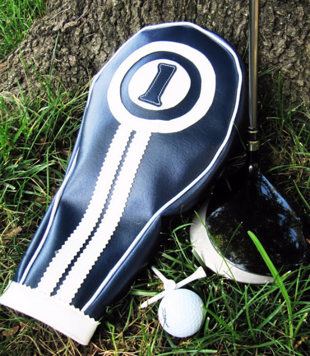 DIY Gifts for Dad - Golf Club Headcovers - Best Craft Projects and Gift Ideas You Can Make for Your Father - Last Minute Presents for Birthday and Christmas - Creative Photo Projects, Gift Card Holders, Gift Baskets and Thoughtful Things to Give Fathers and Dads #diygifts #dad #dadgifts #fathersday