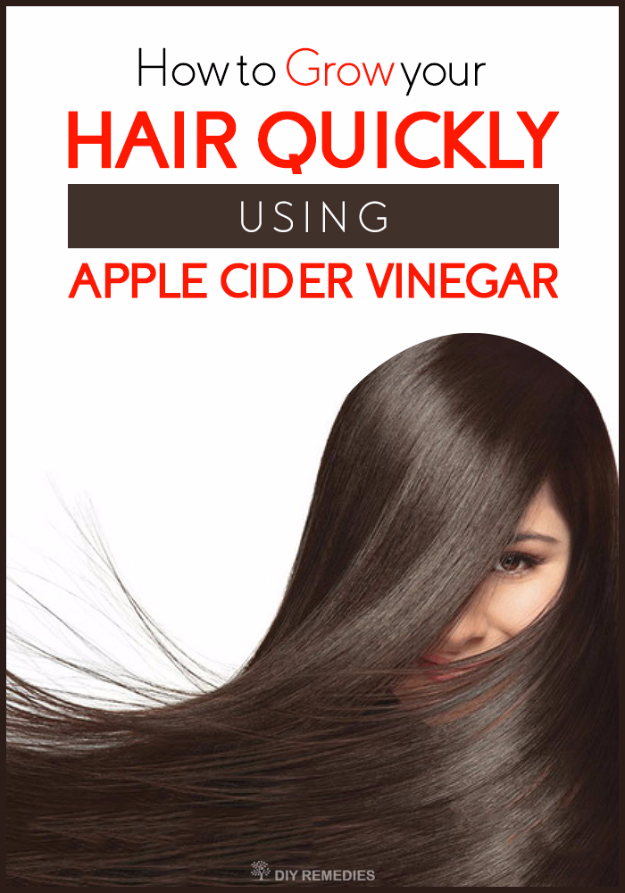 DIY Beauty Hacks - Grow Hair Quickly Using Apple Cider Vinegar - Cool Tips for Makeup, Hair and Nails - Step by Step Tutorials for Fixing Broken Makeup, Eye Shadow, Mascara, Foundation - Quick Beauty Ideas for Best Looks in A Hurry http://diyjoy.com/diy-beauty-hacks