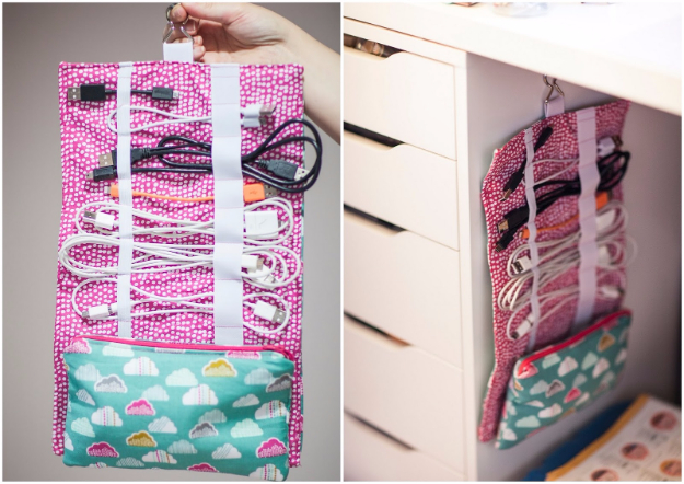 DIY Gifts To Sew For Friends - Home And Away Cable Cozy - Quick and Easy Sewing Projects and Free Patterns for Best Gift Ideas and Presents - Creative Step by Step Tutorials for Beginners - Cute Home Decor, Accessories, Kitchen Crafts and DIY Fashion Ideas #diy #crafts #sewing