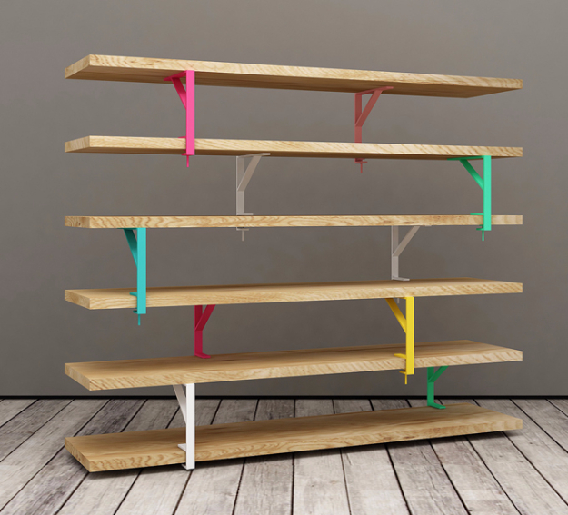 Best IKEA Hacks and DIY Hack Ideas for Furniture Projects and Home Decor from IKEA - IKEA Hack Colorful Shelving Unit - Creative IKEA Hack Tutorials for DIY Platform Bed, Desk, Vanity, Dresser, Coffee Table, Storage and Kitchen, Bedroom and Bathroom Decor #ikeahacks #diy