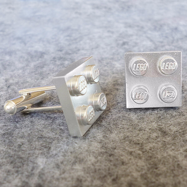 DIY Gifts for Dad - Lego Cuff Links - Best Craft Projects and Gift Ideas You Can Make for Your Father - Last Minute Presents for Birthday and Christmas - Creative Photo Projects, Gift Card Holders, Gift Baskets and Thoughtful Things to Give Fathers and Dads #diygifts #dad #dadgifts #fathersday