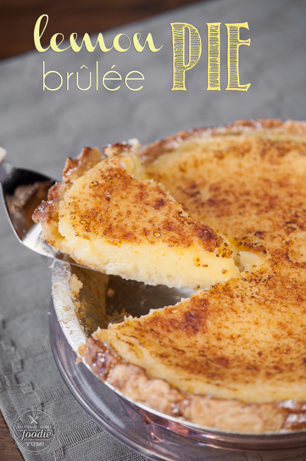 Best Pie Recipes - Lemon Brulee Pie - Easy Pie Recipes From Scratch for Pecan, Apple, Banana, Pumpkin, Fruit, Peach and Chocolate Pies. Yummy Graham Cracker Crusts and Homemade Meringue #recipes #dessert